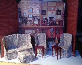 Dollhouse Living room miniature Furniture