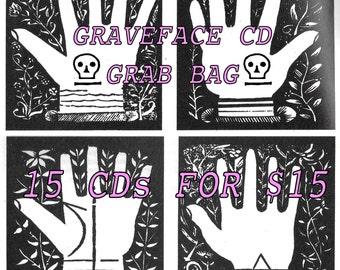 Graveface CD grab bag