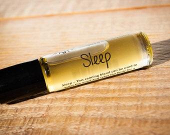 Sleep/Sleep aid/Sleep Roller Blend/Essential oil/All natural remedy/Aromatherapy roller/Aromatherapy/Organic/Lotus Naturals/All natural