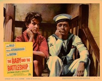 The Baby And The Battleship - 1957 - Original US lobby card  # 4