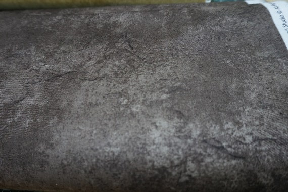 Cotton Fabric by the Metre Maywood Studio Cotton Fabric is great for quilting and sewing projects.  Deep Brown Marble