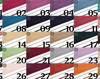1m Soutache band fine 3mm in wide range of colours