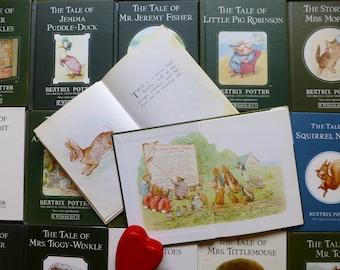 1980s Beatrix Potter Books