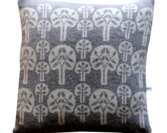 40cm Lambswool Forest Cushion