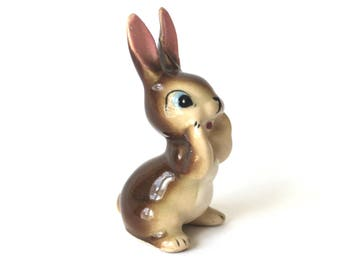 Vintage Made in Japan Bunny Rabbit Figurine