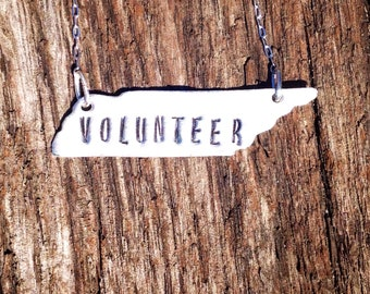 State of Tennessee volunteer necklace