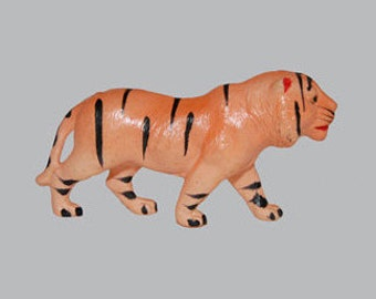 VIntage Celluloid Toy Tiger - Nippon