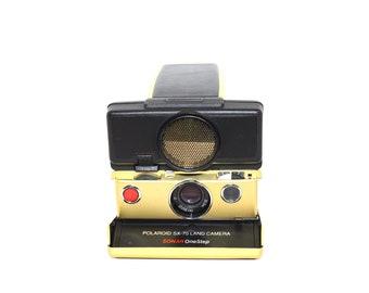 Polaroid SX 70 24k gold-plated Land Camera Sonar Autofocus - Limited Edition