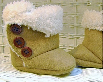 Baby SnUgg Boots PATTERN