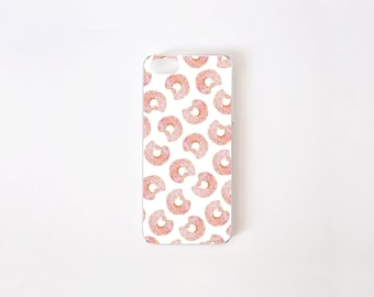 iPhone 5/5s Case - Donuts iPhone Case - iPhone 5s case - iPhone 5 case - Hard Plastic or Rubber