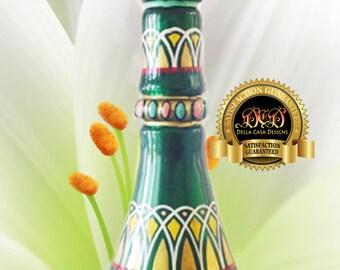 I Dream of Jeannie 2nd Season Metallic Green EVIL Sister's Genie/Jeannie Bottle