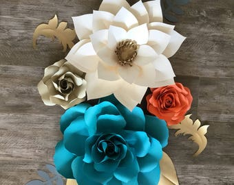 Home decor paper flower