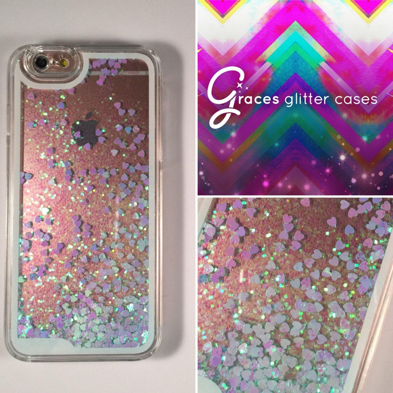 moving glitter iphone 6 plus case