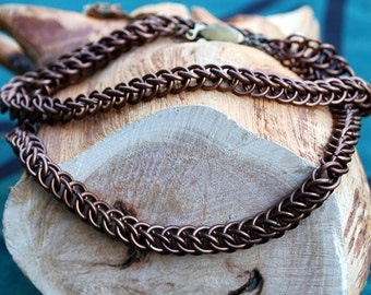 Brown Half-Persian Necklace Chain