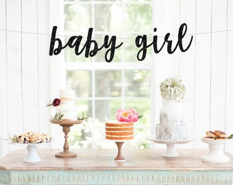 baby girl banner, its a girl banner, baby shower banner, gender reveal banner,Baby Shower, New Baby Banner,Girl Baby Shower, Sprinkle Shower