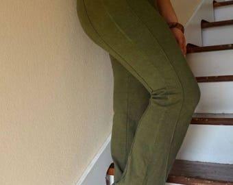Yoga Pants/ Hemp and Organic Cotton