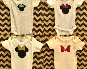 Minnie Mouse Onesies