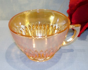 Anniversary by Jeannette Iridized Marigold Carnival Cup