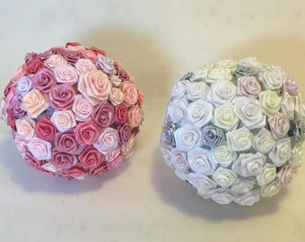 Garden Party Floral Pomanders (set of 2)