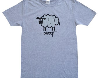 Mens SHEEP grey T.shirt.