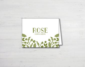 Twig Thank You Notes