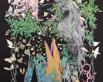 Art Print Silkscreen Fine Art