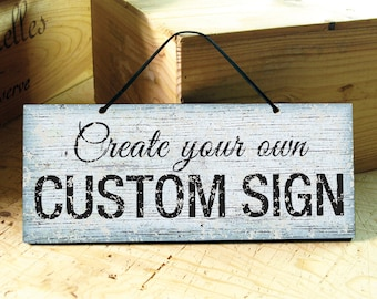 Custom door sign | Etsy