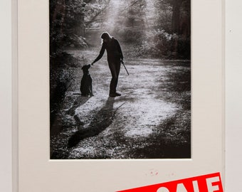 Hampstead Heath, London, Black & White A4 print SALE-33