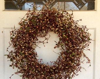 Lavender Spring Wreath ... & Berry door wreath | Etsy