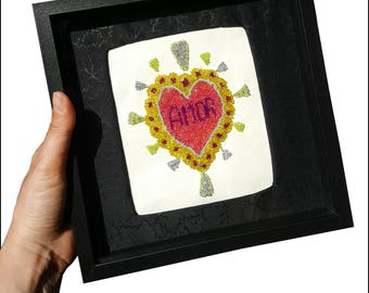 Ex Voto Heart Amor