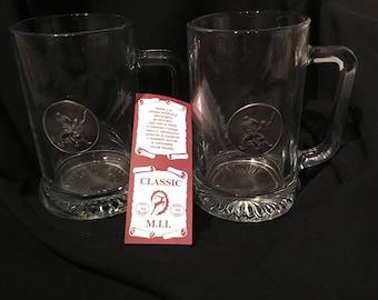 Beer mugs 16 oz pewter beer mugs collectable beer mugs
