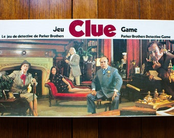 Sale Price Reduced! 1972 Canadian Clue Board Game Excellent Condition Complete