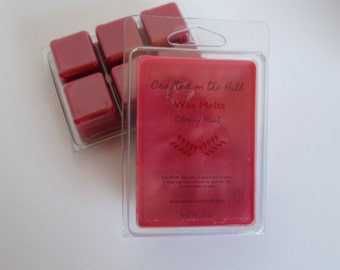 Cherry Mist Wax Melts, Highly Scented Wax, Soy Blend