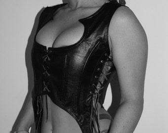 Divine Diva leather corset