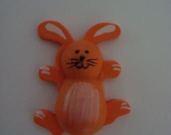 Rabbit wood orange stick