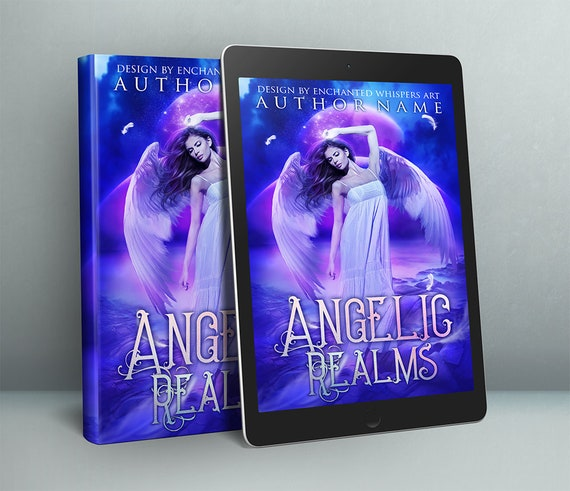 premade fantasy Angel cover art