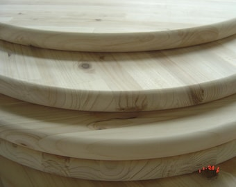 Unfinished Pine Round 18 For Table Top Sign Or Serving