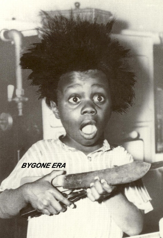 Buckwheat O Tay Our Gang Little Rascals Poster Art Photo 12x18