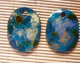 2 PIECES FOR EARRINGS, JEWELRY MAKING.
