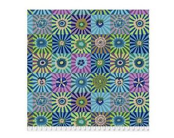 Blue Sunburst Fall 2017, Kaffe Fasset Free Spirit Cotton Fabric