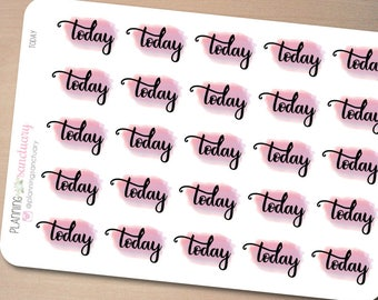 Today Reminder | TO DO Planner Stickers Perfect for Erin Condren, Kikki K, Filofax and all other Planners