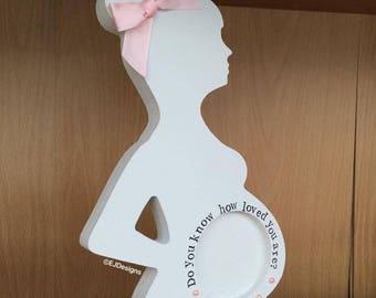 Pregnancy scan holder, Sonogram, Baby frame