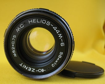 Lens MC HELIOS-44M-6 58mm 1:2 M42 USSR Russian Soviet For Zenit # 87150227