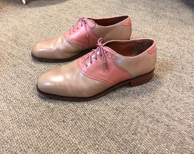 Men's Leather Florsheim by Duckie Vintage Style Oxfords Size 11