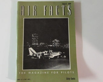 Air Facts Magazine August 1968