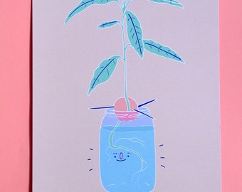 Avocado baby (Print)