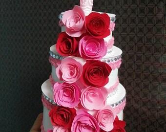 Valentine's Day Miniature Cake