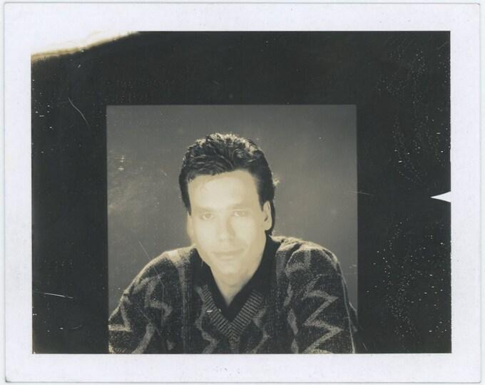 Vintage Polaroid Photo: Mask (71542)