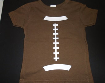 """Infant Football """"Stitching"""" T-shirt - Free Shipping - Limited Quantities Available - On SALE - was 15 USD; now 12 USD"""