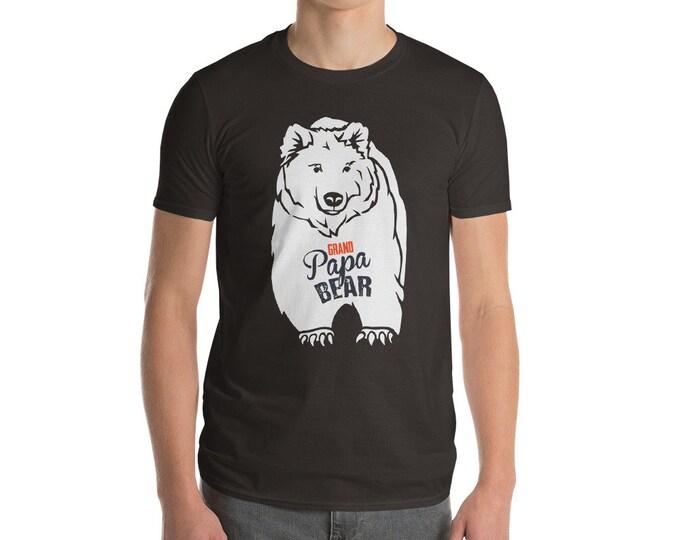 Grand Papa Bear Short-Sleeve T-Shirt